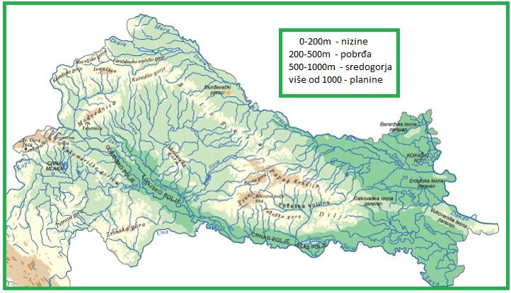 Geografska Karta Hrvatske Zupanije Cherrystaff